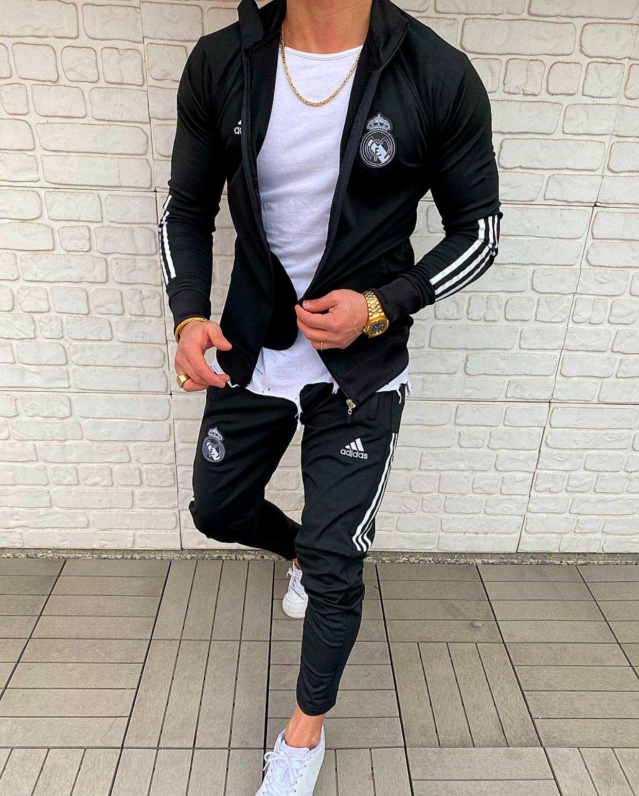 Мужской спортивный костюм Adidas Real madrid